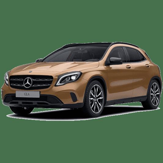 Выкуп Mercedes GLA-klasse с огр. рег. действий