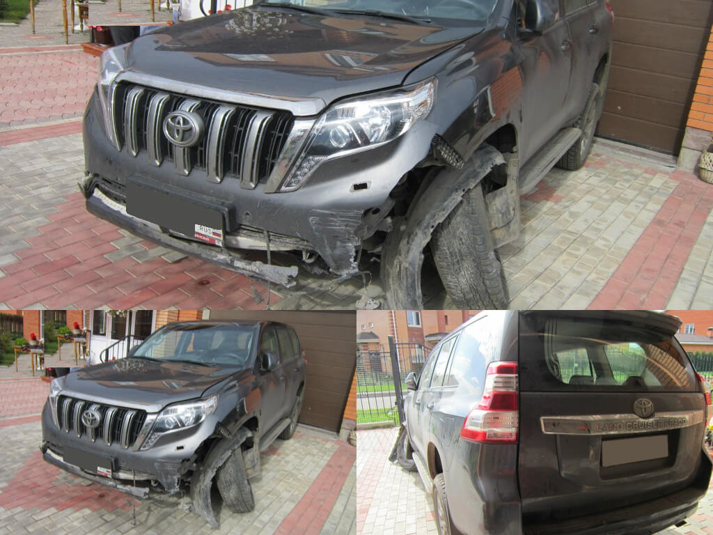 Самостоятельно забрали поврежденный автомобиль